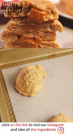 Delicious  Caramel Stuffed Apple Snickerdoodles