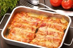 After making this Stuffed Cannelloni recipe I will never use store bought shells again. Making your own crepes ( crespelle) for this dish is a lot easier and much better tasting