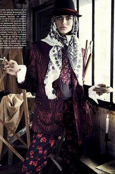 mode_folk-fashion_editorial-karlina_caune by Mlle Spinosa Blog, via Flickr