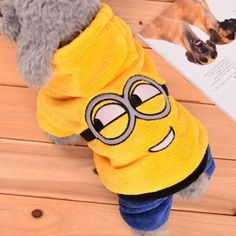 Minions Costume for Small Dog, Cat, or Puppy