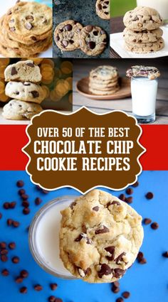 Chocolate Chip Cookie Recipe Round Up