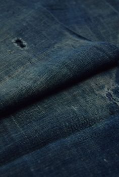 "Etsy のEAC64/60 Vintage Japanese Fabric Cotton Momen Antique Boro Patch Indigo Blue 41.7""(ショップ名:WantiquesStyle305)"