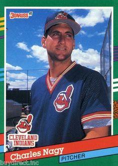 Baseball-mlb Humorous Chares Nagy Cleveland Indians Official Signed Al Ball