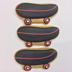 Skate Board Suger Cookies