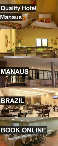 Quality Hotel Manaus in Manaus, Brazil. For more information, photos, reviews and best prices please follow the link. #Brazil #Manaus #travel #vacation #hotel