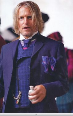 Haymitch Abernathy (Woody Harrelson) Hunger Games