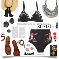 Beach Baby by sonny-m on Polyvore featuring Zimmermann, Stella & Dot, Dolce&Gabbana and Terre Mère