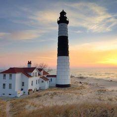 Big Sable Point Lighthouse, Ludington, MI