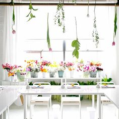 florals and pretty spaces!