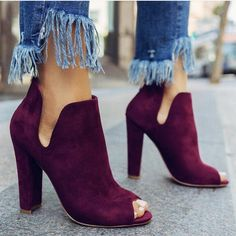 Cute Shoes, Me Too Shoes, Heeled Boots, Shoe Boots, Women's Shoes, Ankle Boots, Shoes Style, High Shoes, Frauen In High Heels