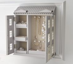 Dollhouse Jewelry Cabinet | Pottery Barn Kids