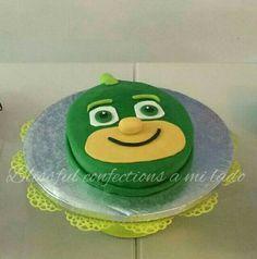 Pj Masks - Gekko Face cake