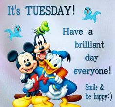 Hey  They  Say it's Tuesday Trouble day Let's all play & make this Day Fun day :-$
