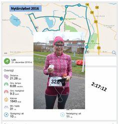 Nytårsløbet har Maria nu løbet for fjerde gang, så det er efterhånden blevet en tradition og indgår nu i hendes løbepensum.