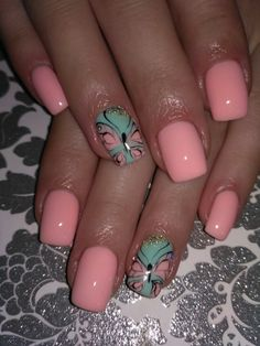 Attractive Looking Nails with Solar Nails Fabulous Nails, Gorgeous Nails, Pretty Nails, Cute Nails, Fingernail Designs, Toe Nail Designs, Pretty Nail Designs, Colorful Nail Designs, Colorful Nails