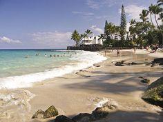 Magic Sands Beach - Kona, Big Island I MISS IT SO MUCH:(