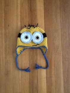 Minion Hat - pattern from Repeat Crafter Me