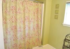 Turn a Bed Sheet into a Shower Curtain- Planning to do this as I have not found a shower curtain that I like (for a reasonable price)