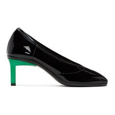 3.1 Phillip Lim - Black Patent Blade Heels
