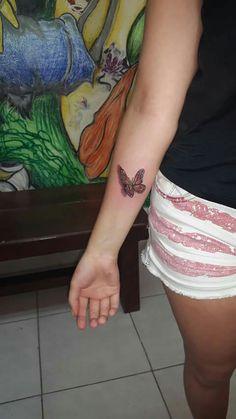 Mariposa tatuaje