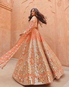 30 Exciting Indian Wedding Dresses That You'll Love ❤ india wedding dresses sequins gold lehenga bhinavmishra #weddingforward #wedding #bride #weddingoutfit #bridaloutfit #weddinggown