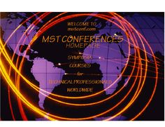 MST CONFERENCES: Symposia and courses on materials and surface related phenomena