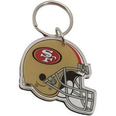 San Francisco 49ers High Definition Helmet Keychain
