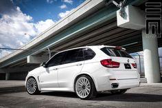 Alpine White BMW X5 On Vossen VFS2 Wheels...now that's a good look