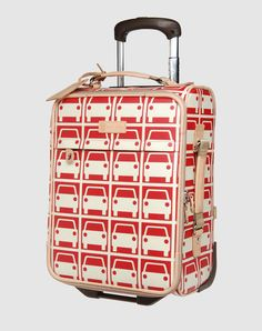 Trolley by Orla Kiely When I fly for the first timeee Orla Kiely, Girls Wear, Suitcase, Wallets, Favorite Things, Classy, Fashion Design, Purses, Pearls