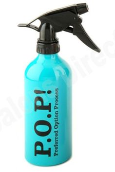 059293100440 Buy POP Salon Aluminium Water Spray Bottle (Aqua) at Salons Direct  Australia.