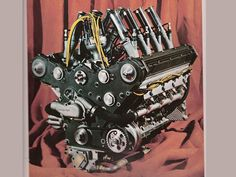 Based on the Oldsmobile (not Buick) 3.5 liter aluminum V-8, the American block was modified, including SOHC heads, by the Australian Repco company for the Brabham team. While lightweight, the engine was nearly dimensional equal to a small-block Chevy. Brabham put the engine to good use, winning the drivers' and constructors' championships that year. For 1967 onward, the Repco-Brabham engine utilized a bespoke engine block through the 1968 season.