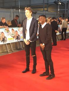 Cal(freezy) & Tobi at Laid in America Premiere