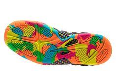 """Nike Foamposite """"Fruity Pebbles"""" Black Release Info   SneakerNews.com"""