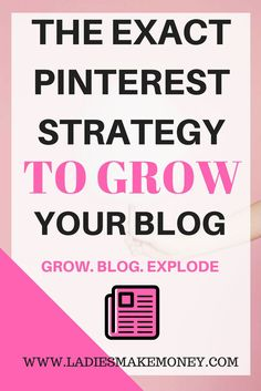 The exact Pinterest strategies I use to increase my blog traffic. Increase blog traffic. Pinterest strategies. Pinterest group boards. Pinterest tips. How to use Pinterest to grow your blog.