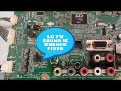 here i will share led tv sound problem repairing guide. You can know from here the process of led tv sound problem Crt Tv, Types Of Sound, Tv Speakers, Tv Led, Lg Tvs, Electronic Circuit Projects, Plasma, Mobile Phone Repair, Voltage Regulator