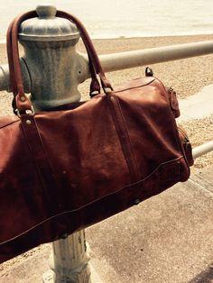 MAHI Leather Deep weekender in vintage brown Leather Holdalls, Weekender, Deep, Unisex, Brown, Bags, Vintage, Collection, Handbags