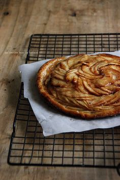 rhubarb & apple tart