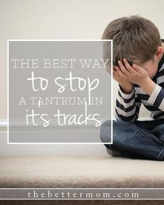 There are many days the tantrums are too many to count!! How can we as moms be better prepared to handle our child's emotional outbursts without having a tantrum ourselves?! Maybe it is simpler than you think....