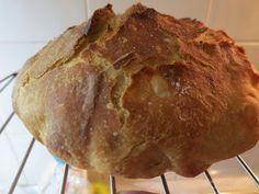 Ζουζουνομαγειρέματα: Ψωμί χωρίς ζύμωμα και χωρίς μεγάλη αναμονή! Kitchen Sets, Rolls, Cooking Recipes, Bread, Blog, Cakes, Diy Kitchen Appliances, Cake Makers, Buns