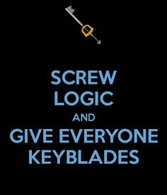 I actually really dislike that so many people have them now...  I don't: Keys! Keys for Everyone!!!!....wait what? Wrong reference.