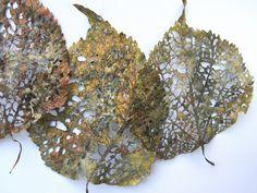 Barbara Schneider Linden Leaf Rag, detail is about 20″ tall