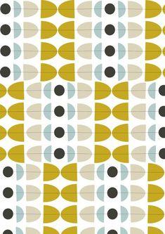Simple geometric playfulness Avenue by Jilly Bird Graphic Patterns, Textile Patterns, Textiles, Retro Pattern, Pattern Art, Pretty Patterns, Color Patterns, 60s Patterns, Decoupage