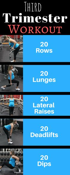 Second Trimester Prenatal Workout. Total body workout to help you get ready for labor.