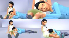 Sims 4 CC's - The Best: Child Poses by Yunanesca - Sims 4 Studio