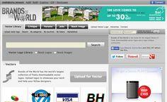 - website onde se pode fazer download da versão vectorizada de marcas conhecidas - http://www.brandsoftheworld.com/