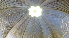 The ceiling of the Tribune, or Cabinet, at Strawberry Hill; Twickenham, UK