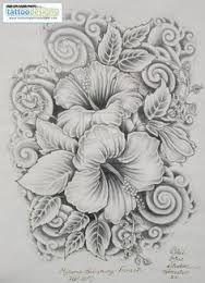 Risultati immagini per tatuaggi watercolor ibisco