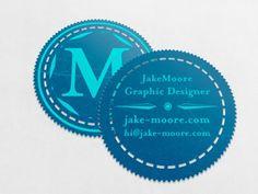 30 creative circle business card designs - Circle Business Card Template