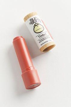 Tinted Lip Balm, Lip Tint, Sunscreen Lip Balm, Sun Bum, Olive Fruit, Iron Oxide, Seed Oil, Stevia, Shea Butter