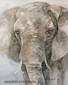 ORIGINAL peinture aquarelle peinture par rachellelevingston sur Etsy